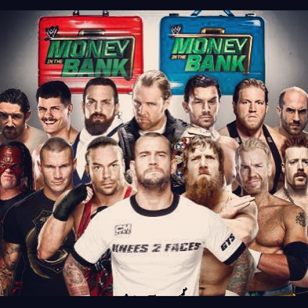 Nice wallpapers WWE Money In The Bank 2013 612x612px