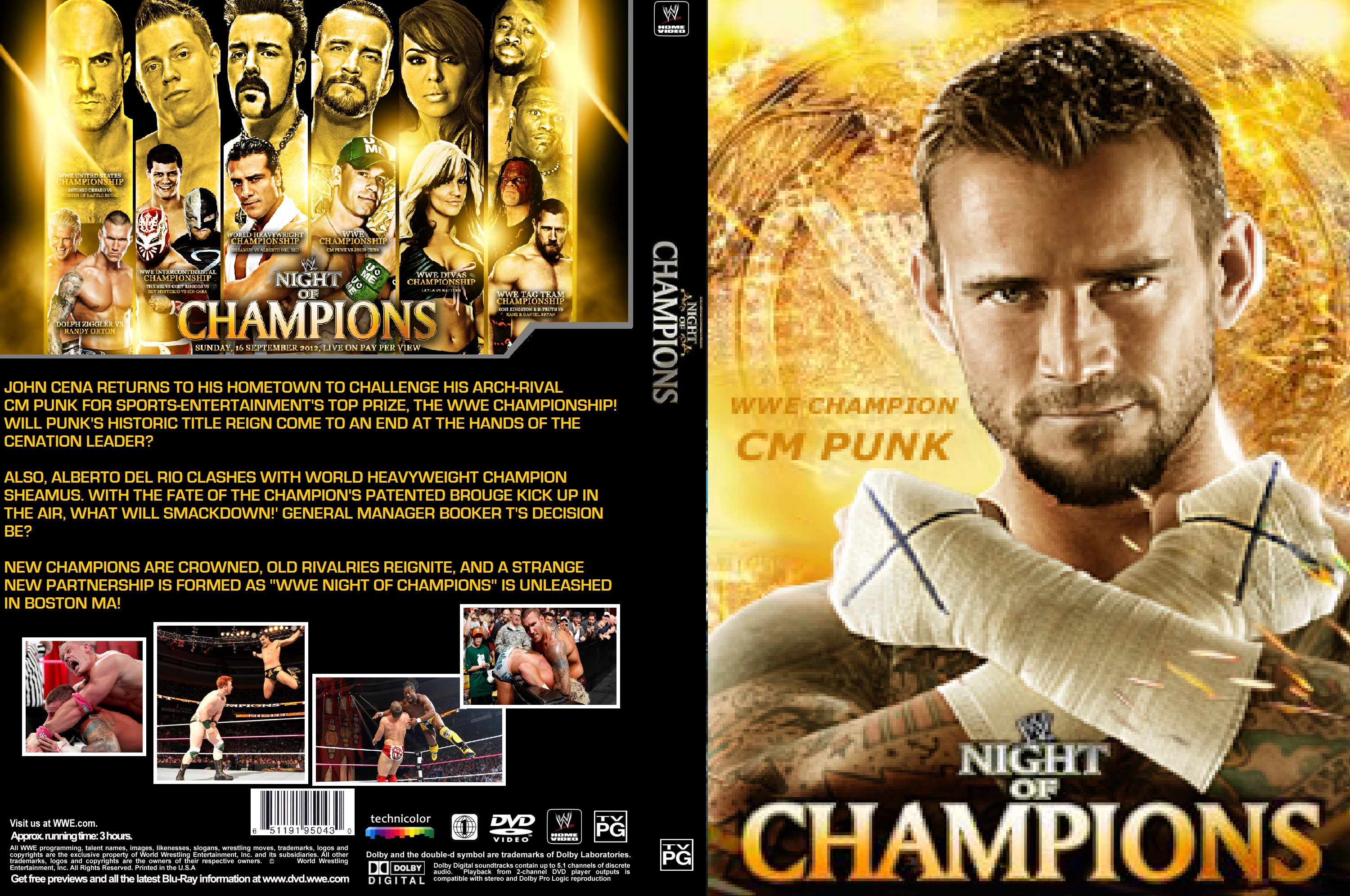 WWE Night Of Champions 2012 Pics, Movie Collection