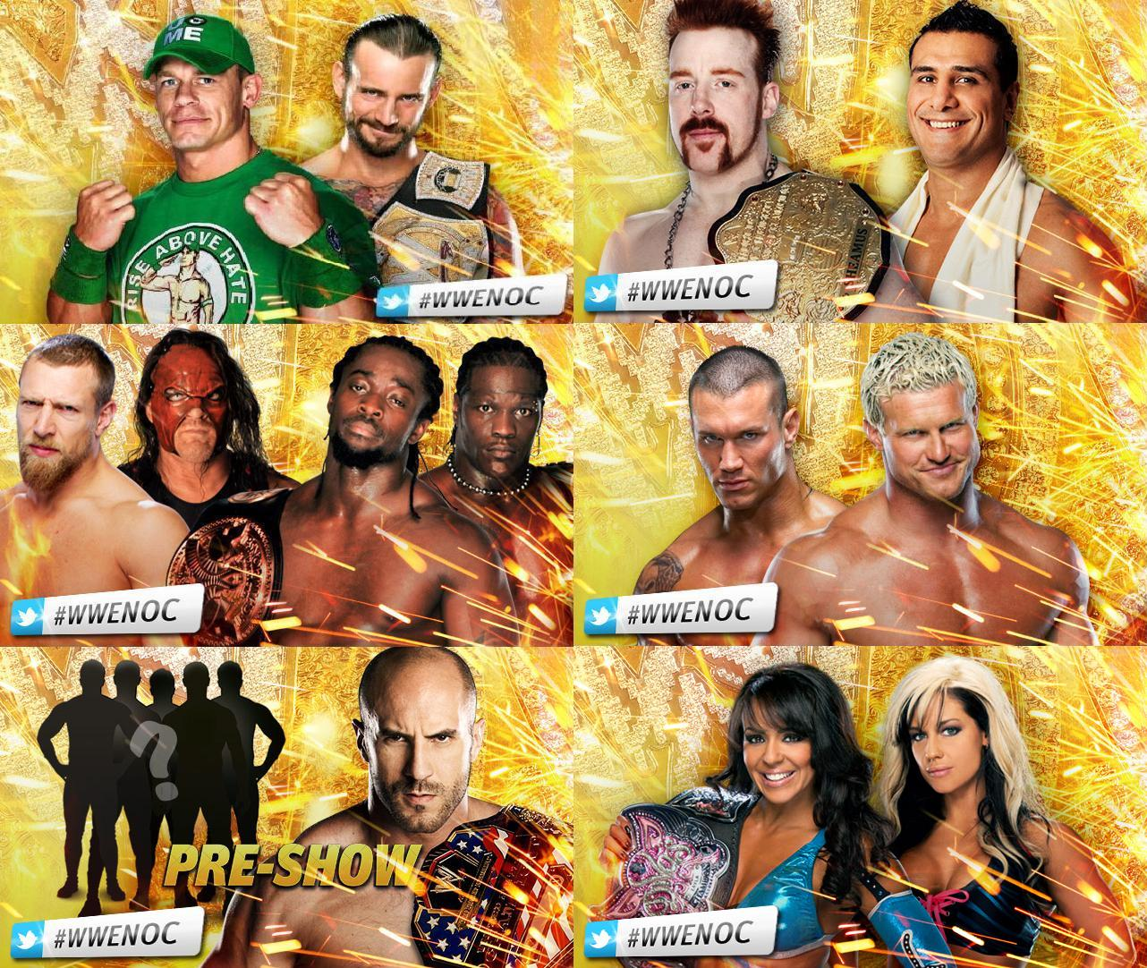 Nice Images Collection: WWE Night Of Champions 2012 Desktop Wallpapers