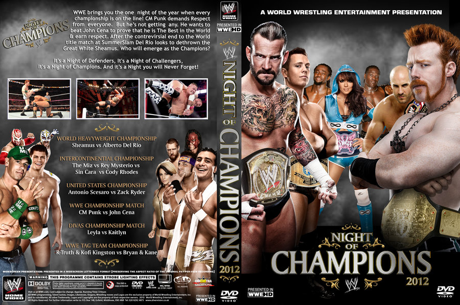 HQ WWE Night Of Champions 2012 Wallpapers | File 219.45Kb