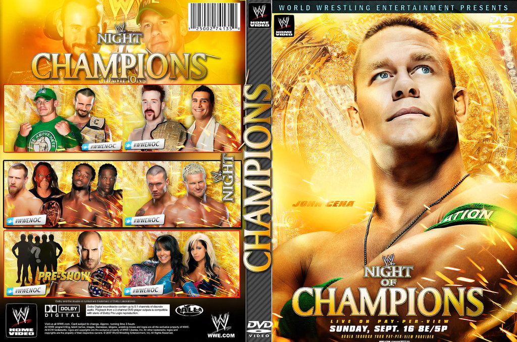 WWE Night Of Champions 2012 Backgrounds, Compatible - PC, Mobile, Gadgets| 1024x677 px