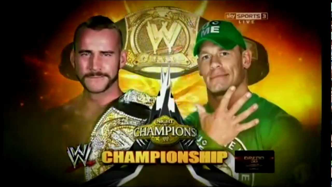 Nice wallpapers WWE Night Of Champions 2012 1280x720px