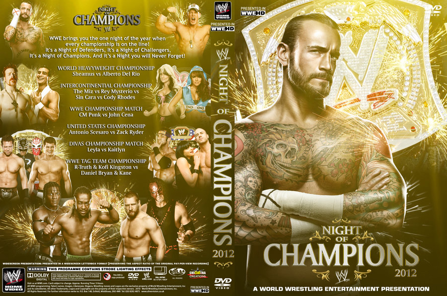 HQ WWE Night Of Champions 2012 Wallpapers | File 234.08Kb