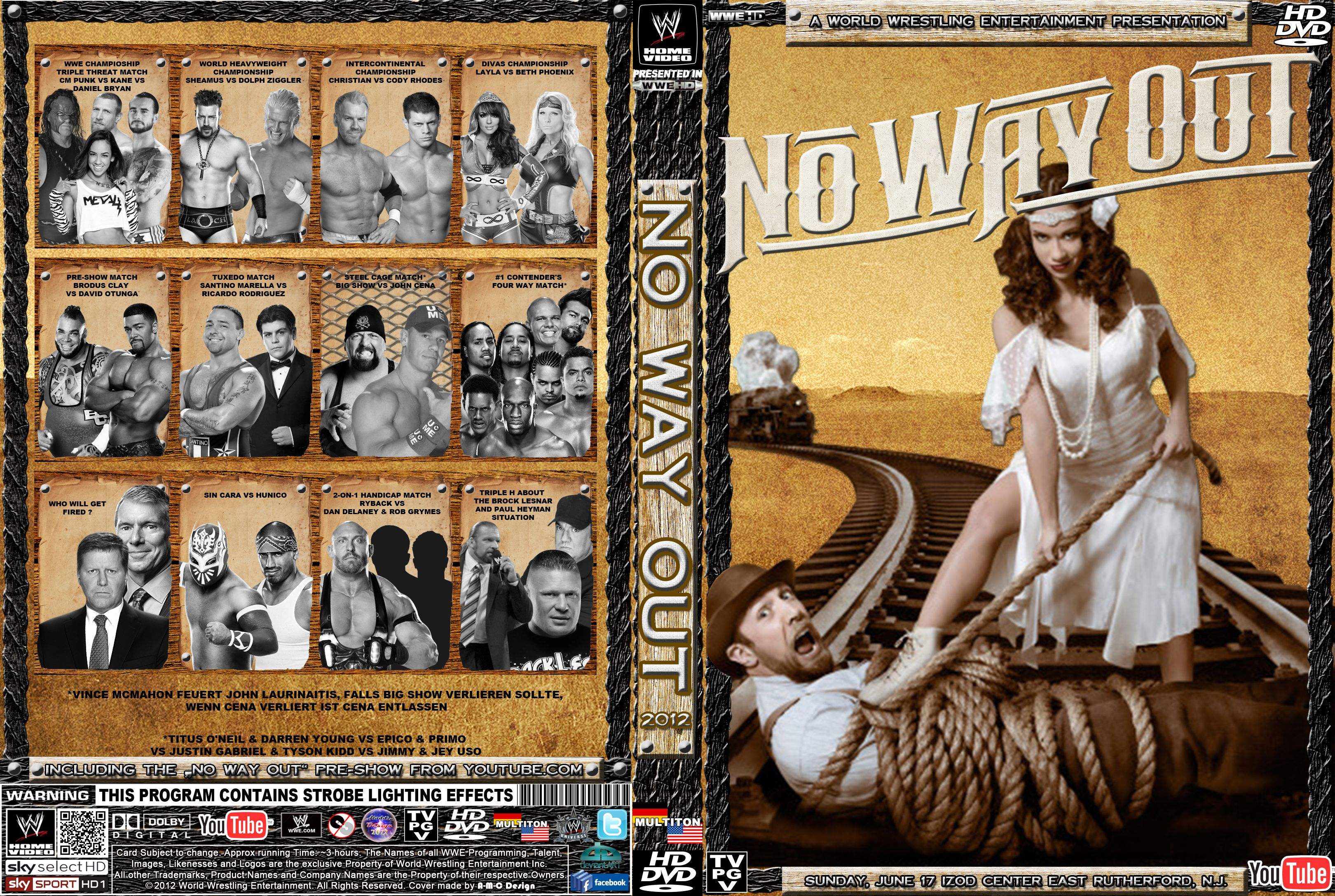 HD Quality Wallpaper   Collection: Movie, 3240x2175 WWE No Way Out 2012