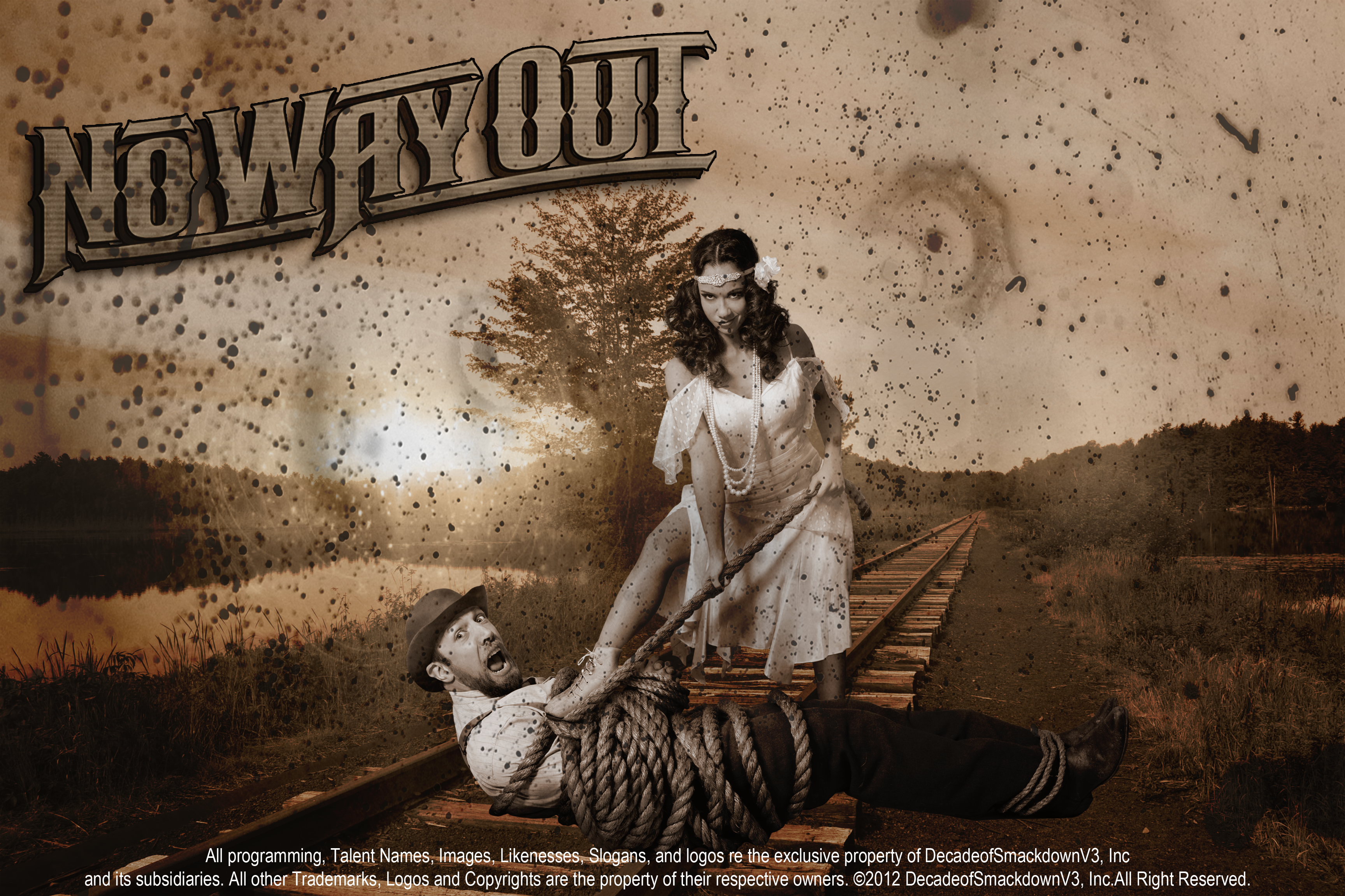 HD Quality Wallpaper   Collection: Movie, 3456x2304 WWE No Way Out 2012