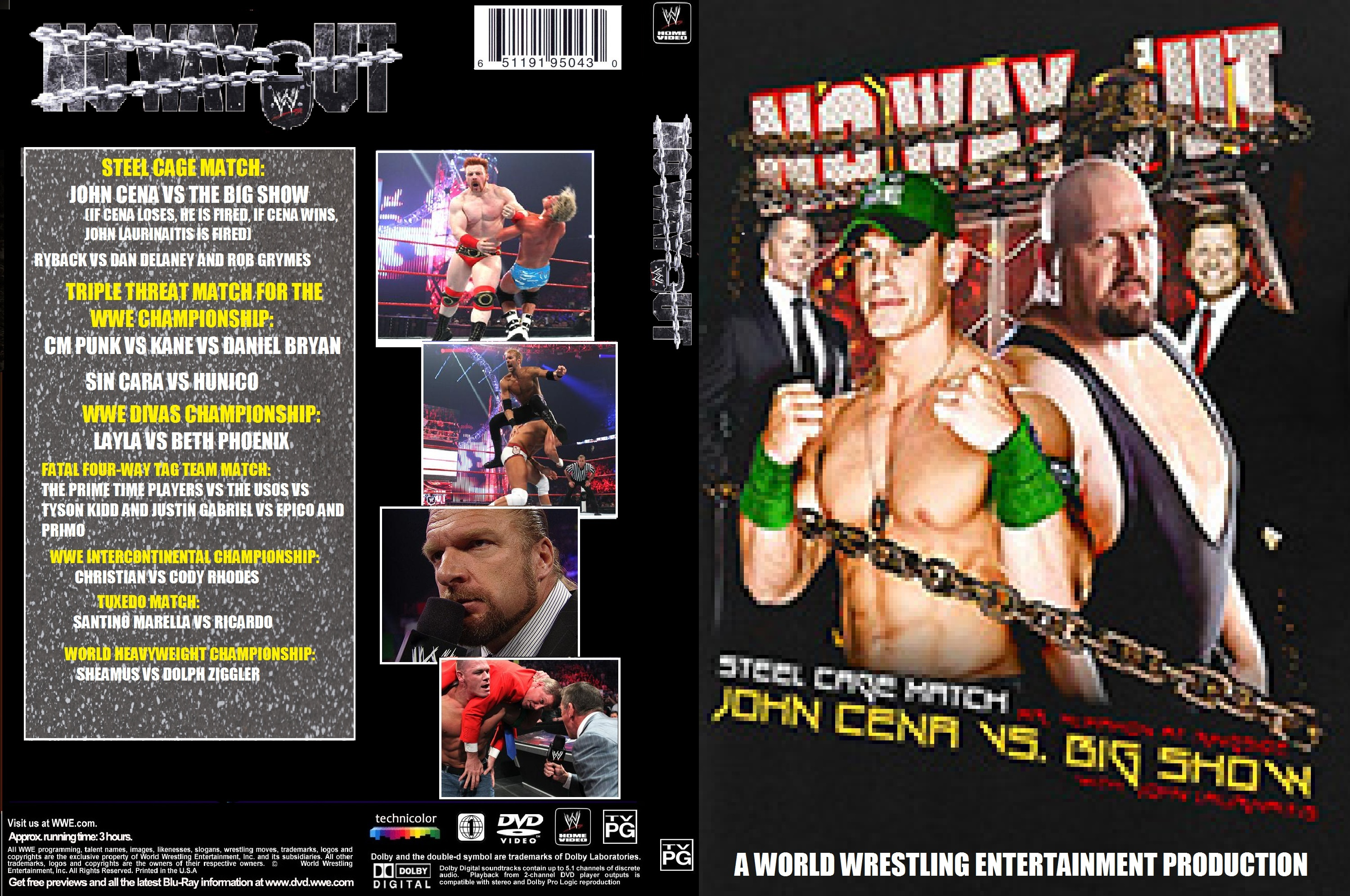 WWE No Way Out 2012 Pics, Movie Collection