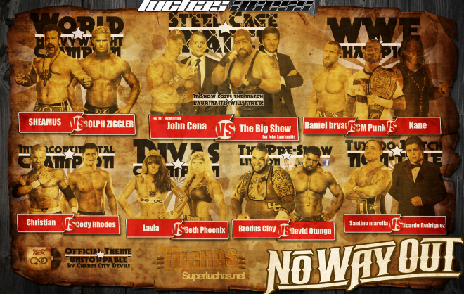 HQ WWE No Way Out 2012 Wallpapers   File 326.04Kb