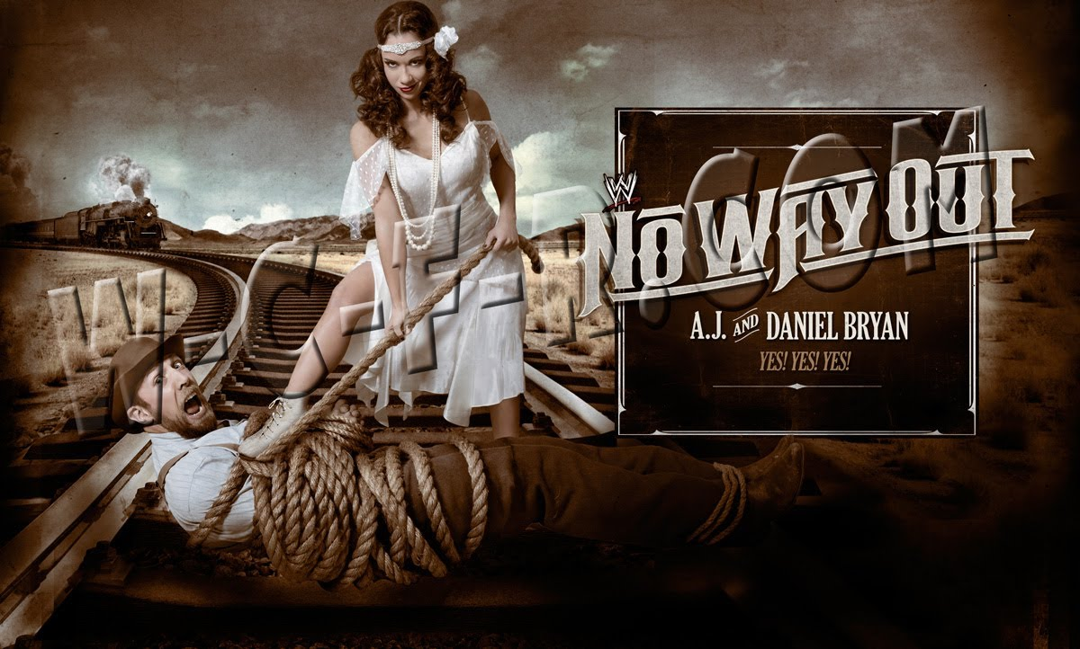 Nice Images Collection: WWE No Way Out 2012 Desktop Wallpapers