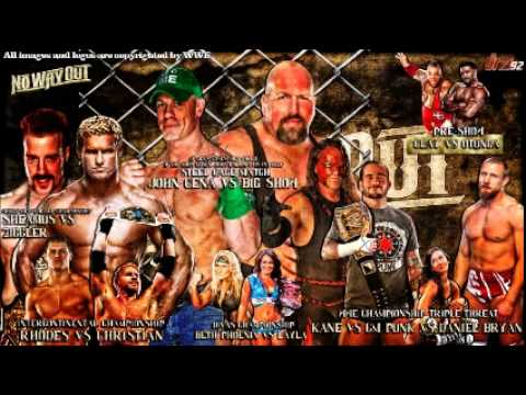 Amazing WWE No Way Out 2012 Pictures & Backgrounds