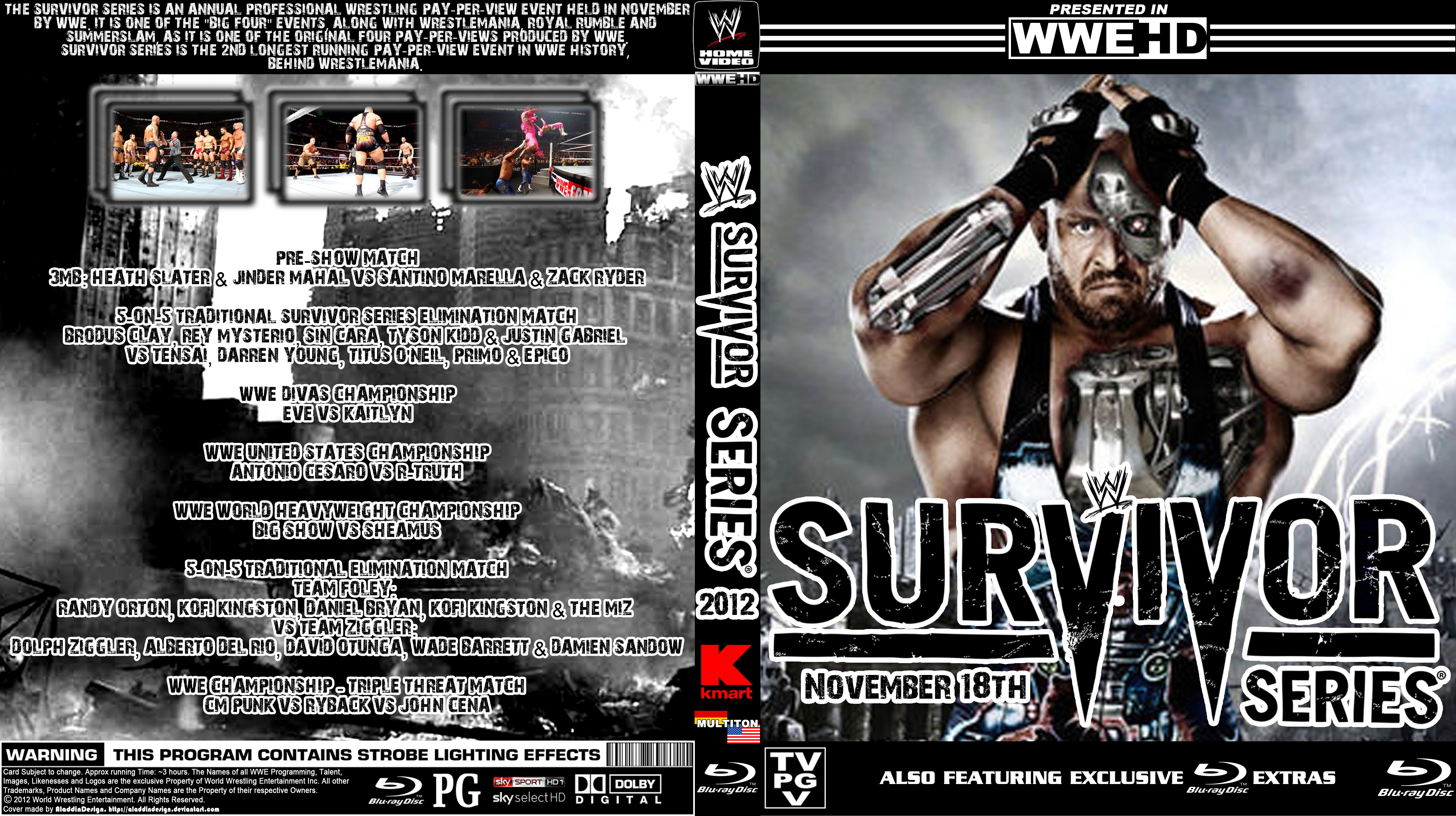 High Resolution Wallpaper   WWE Survivor Series 2012 6236x3496 px