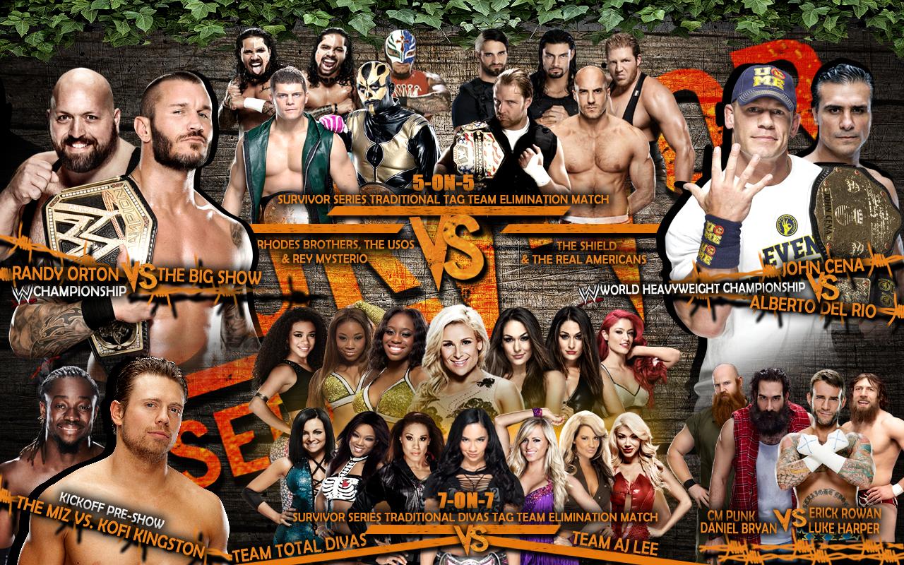 1280x800 > WWE Survivor Series 2012 Wallpapers