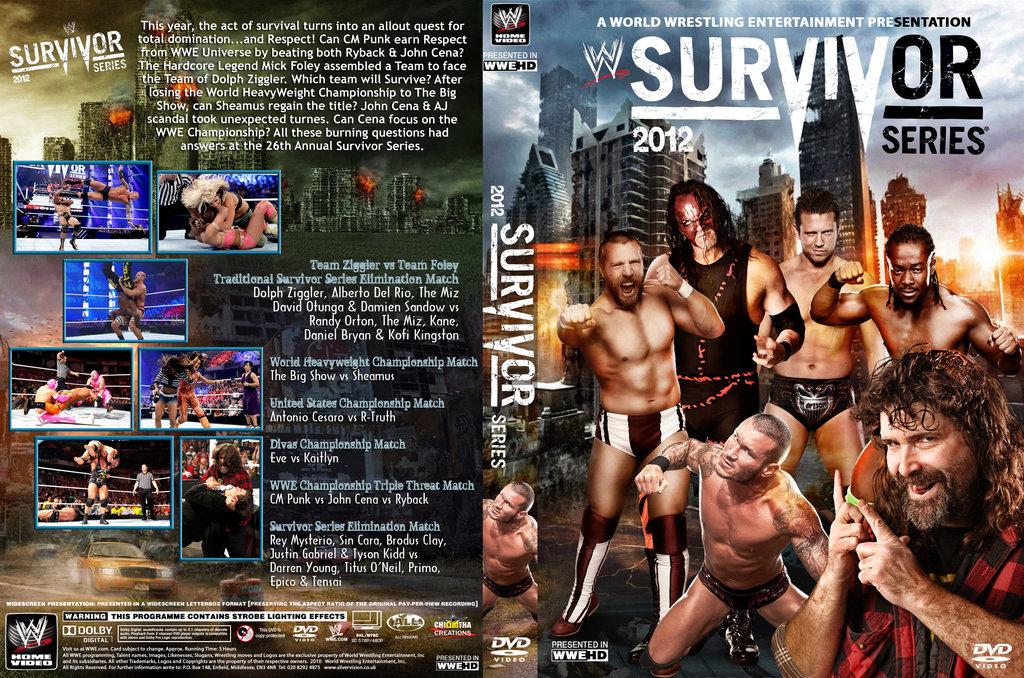 HQ WWE Survivor Series 2012 Wallpapers   File 314.63Kb