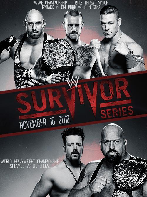 WWE Survivor Series 2012 Backgrounds, Compatible - PC, Mobile, Gadgets  500x670 px