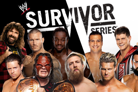 Amazing WWE Survivor Series 2012 Pictures & Backgrounds