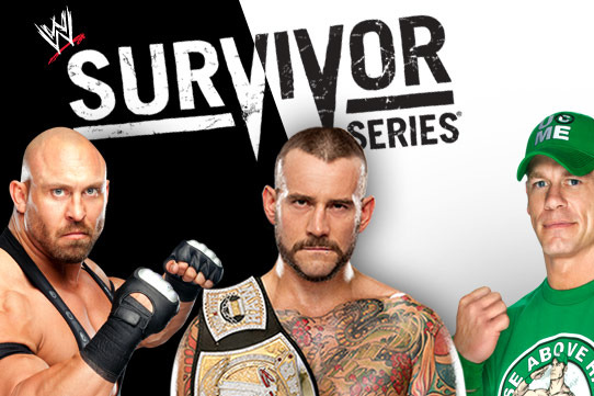 542x361 > WWE Survivor Series 2012 Wallpapers