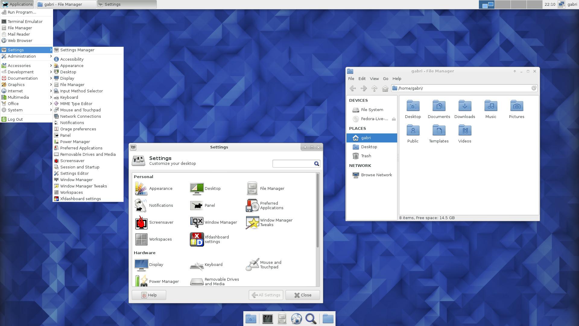 XFCE Backgrounds, Compatible - PC, Mobile, Gadgets| 1920x1080 px