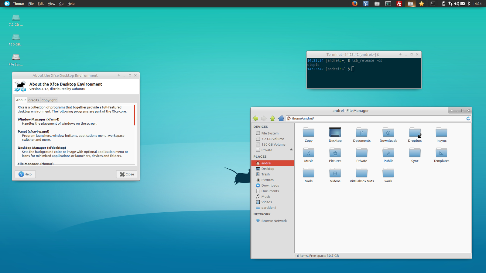XFCE Backgrounds on Wallpapers Vista