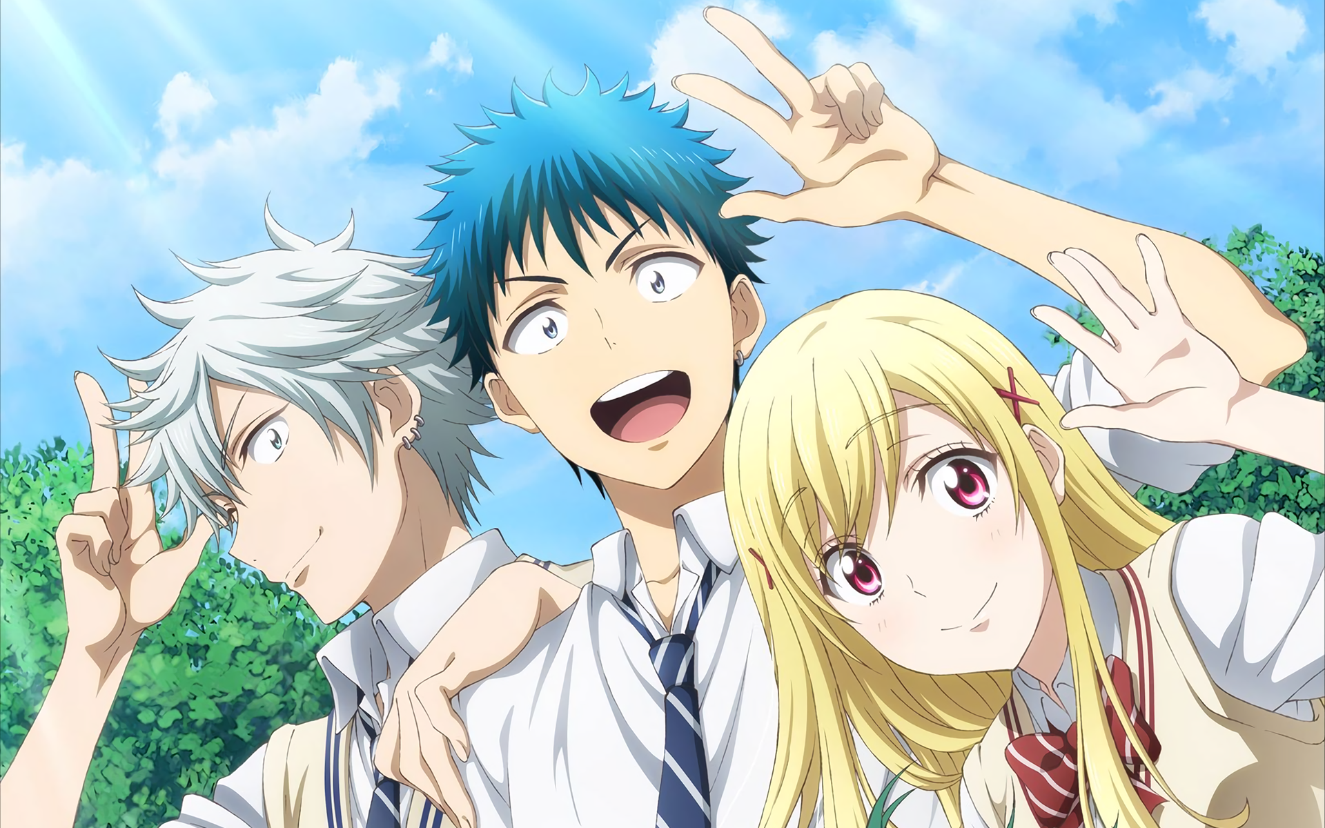 Yamada-kun And The Seven Witches High Quality Background on Wallpapers Vista