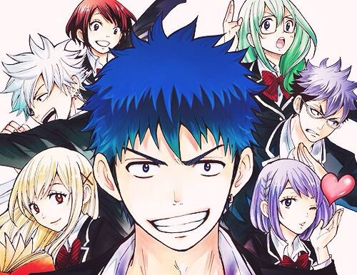 500x386 > Yamada-kun And The Seven Witches Wallpapers