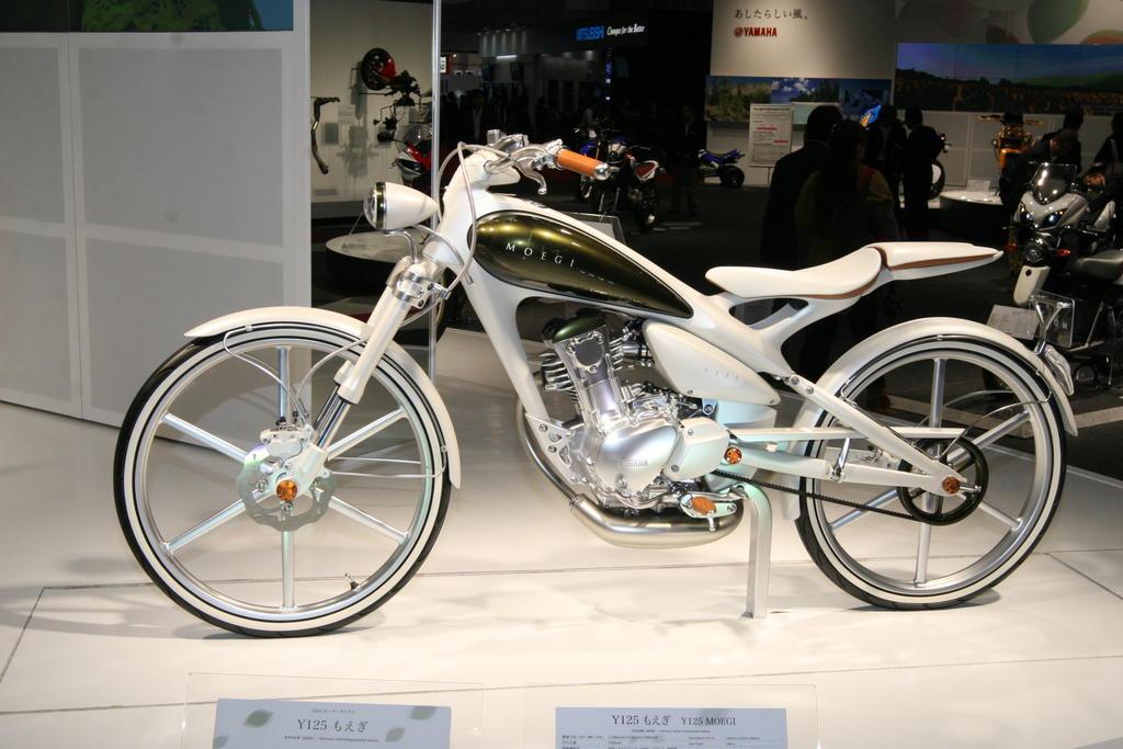 Amazing Yamaha Y125 Moegi Pictures & Backgrounds