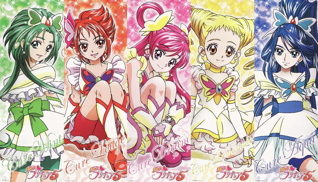 Yes! Pretty Cure 5 Backgrounds on Wallpapers Vista