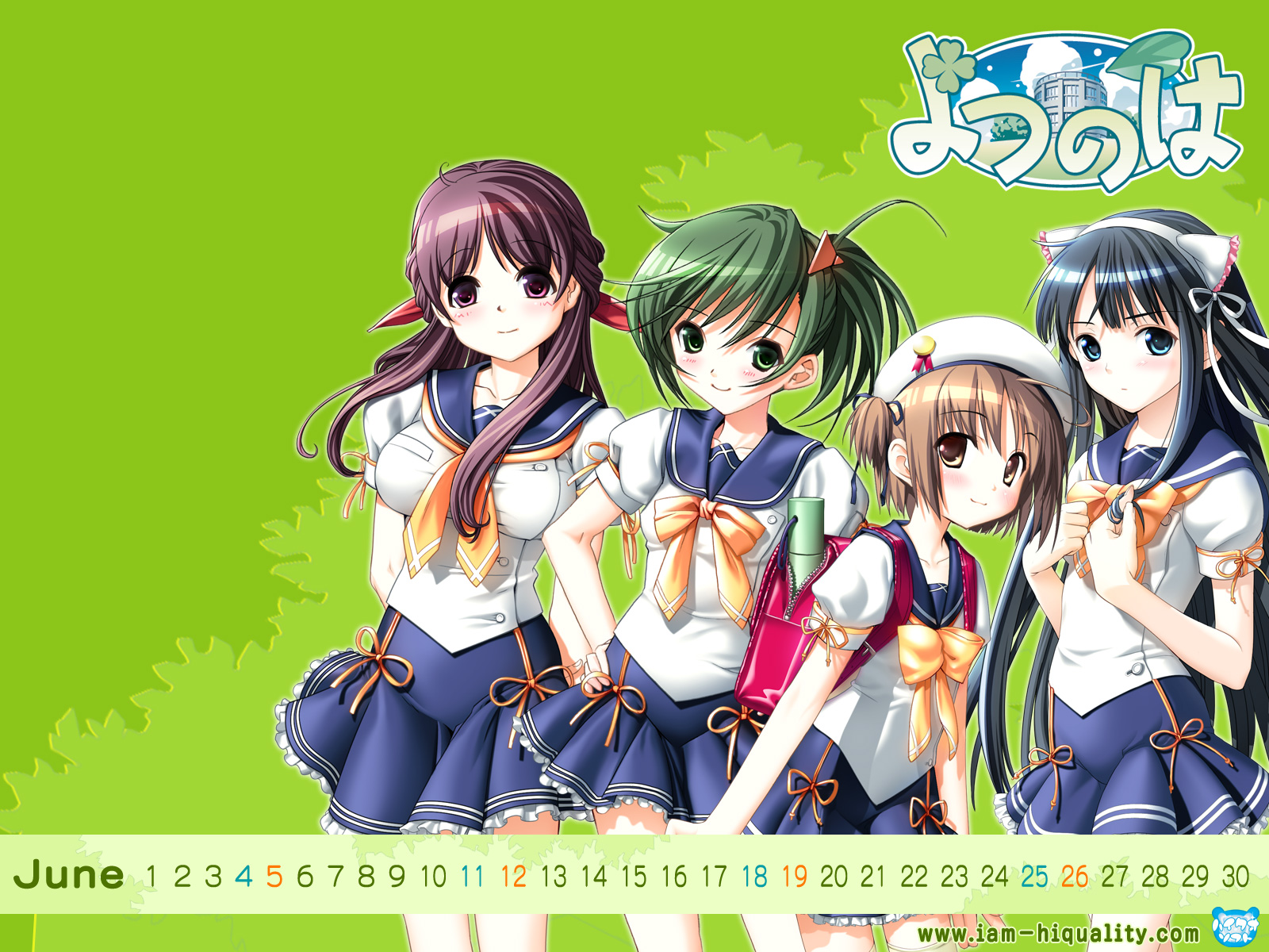 Nice Images Collection: Yotsunoha Desktop Wallpapers