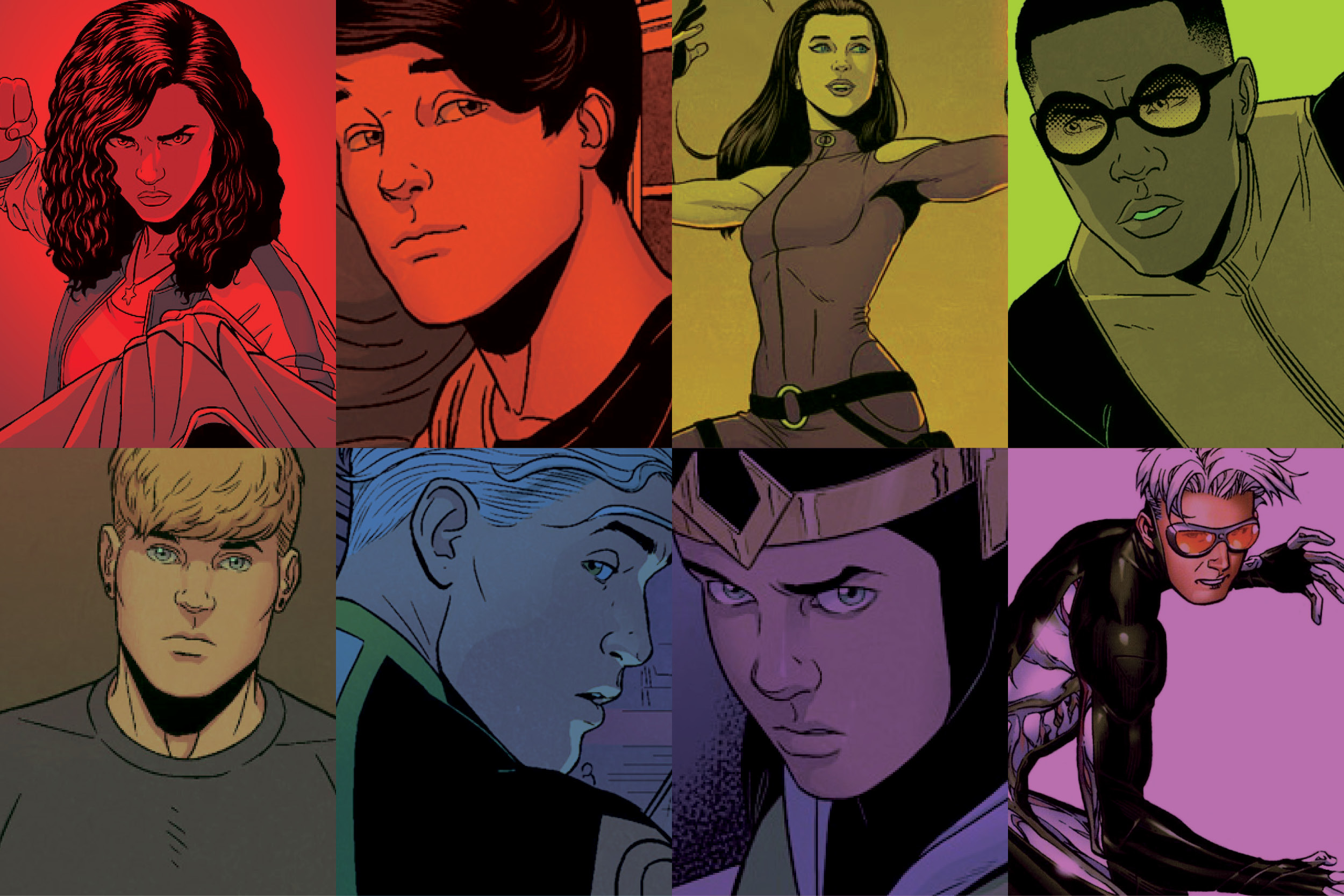 HD Quality Wallpaper   Collection: Comics, 2500x1667 Young Avengers