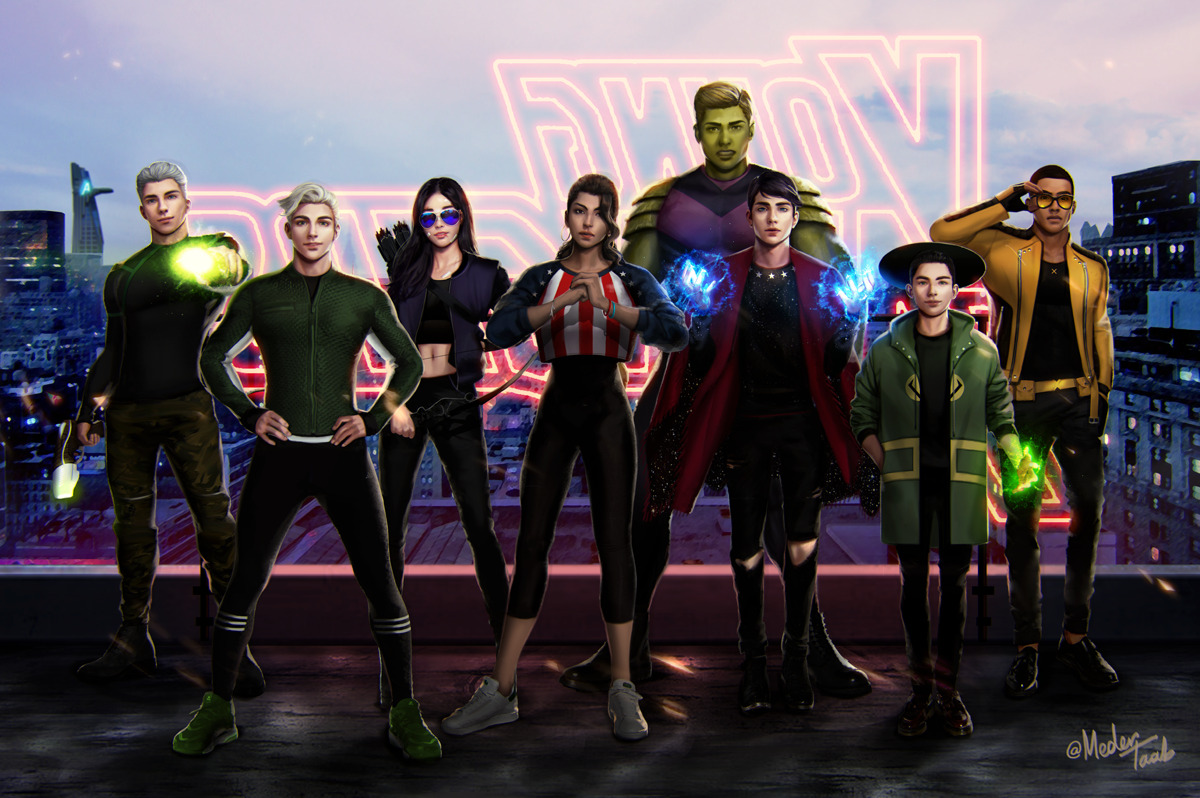 Young Avengers Backgrounds on Wallpapers Vista