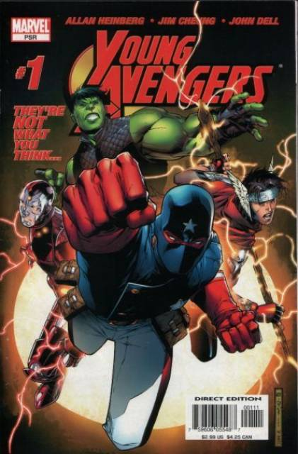 HD Quality Wallpaper   Collection: Comics, 421x640 Young Avengers