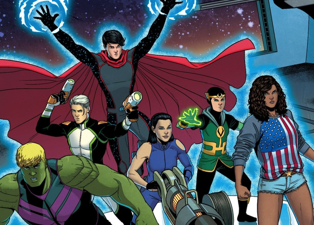 Young Avengers Backgrounds, Compatible - PC, Mobile, Gadgets  1024x734 px