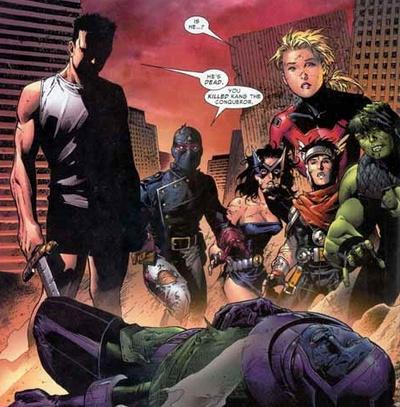 Young Avengers Pics, Comics Collection