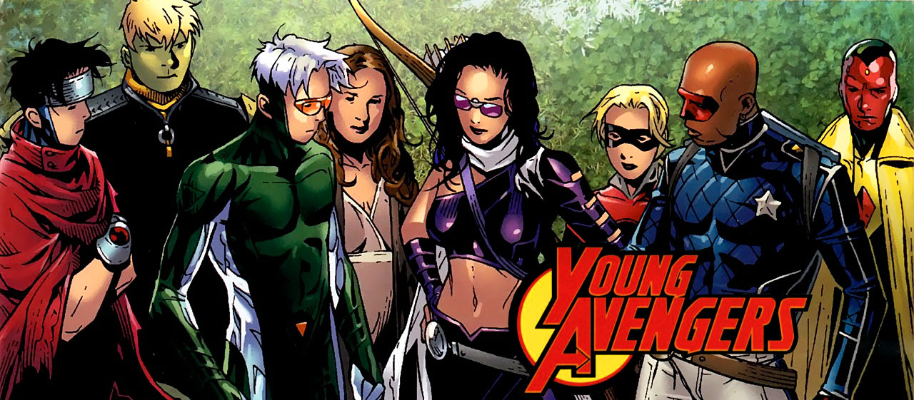 Nice wallpapers Young Avengers 1280x561px