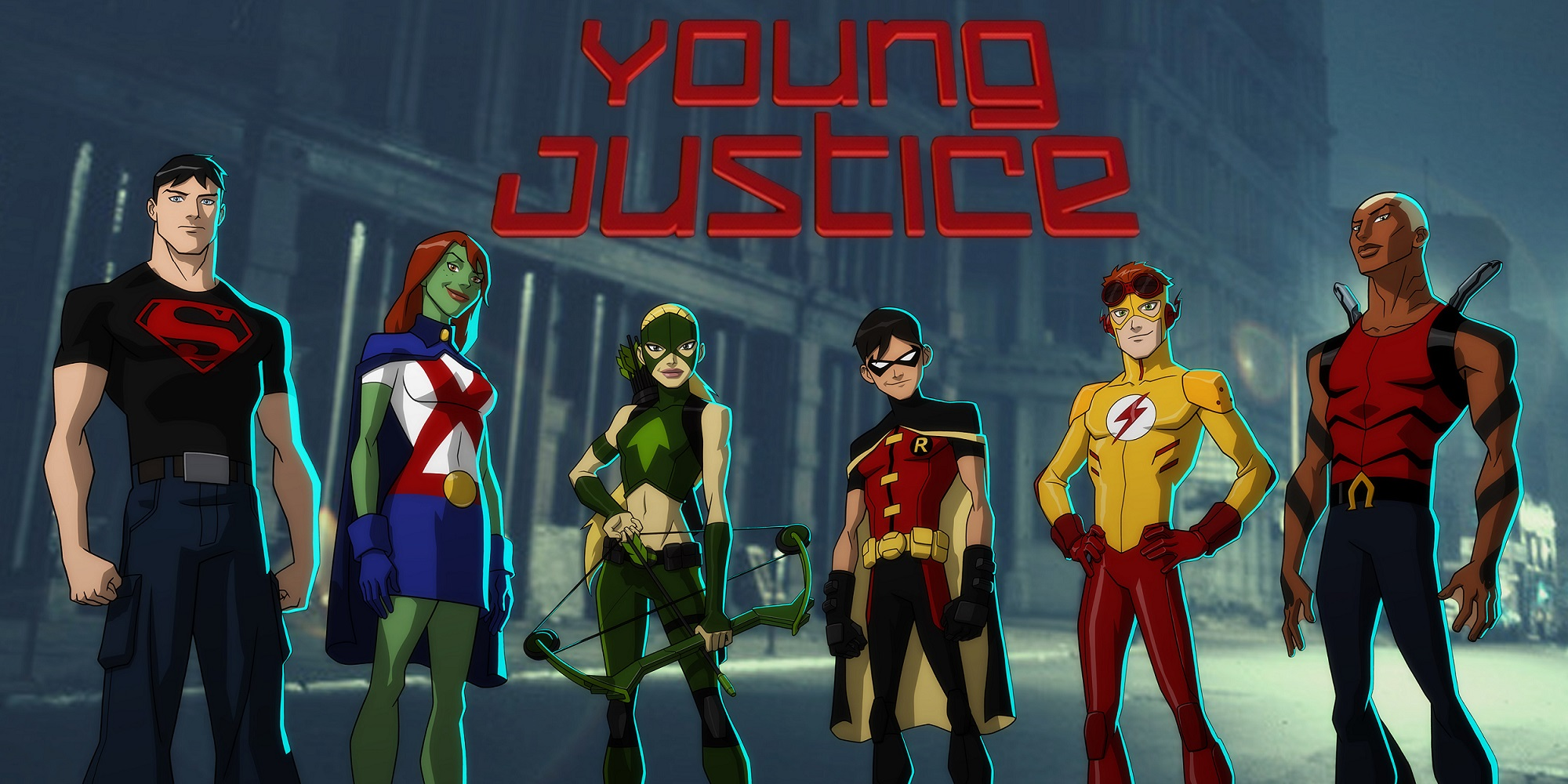 Young Justice High Quality Background on Wallpapers Vista