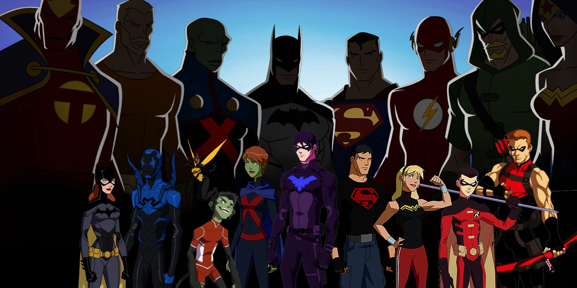 Nice Images Collection: Young Justice Desktop Wallpapers