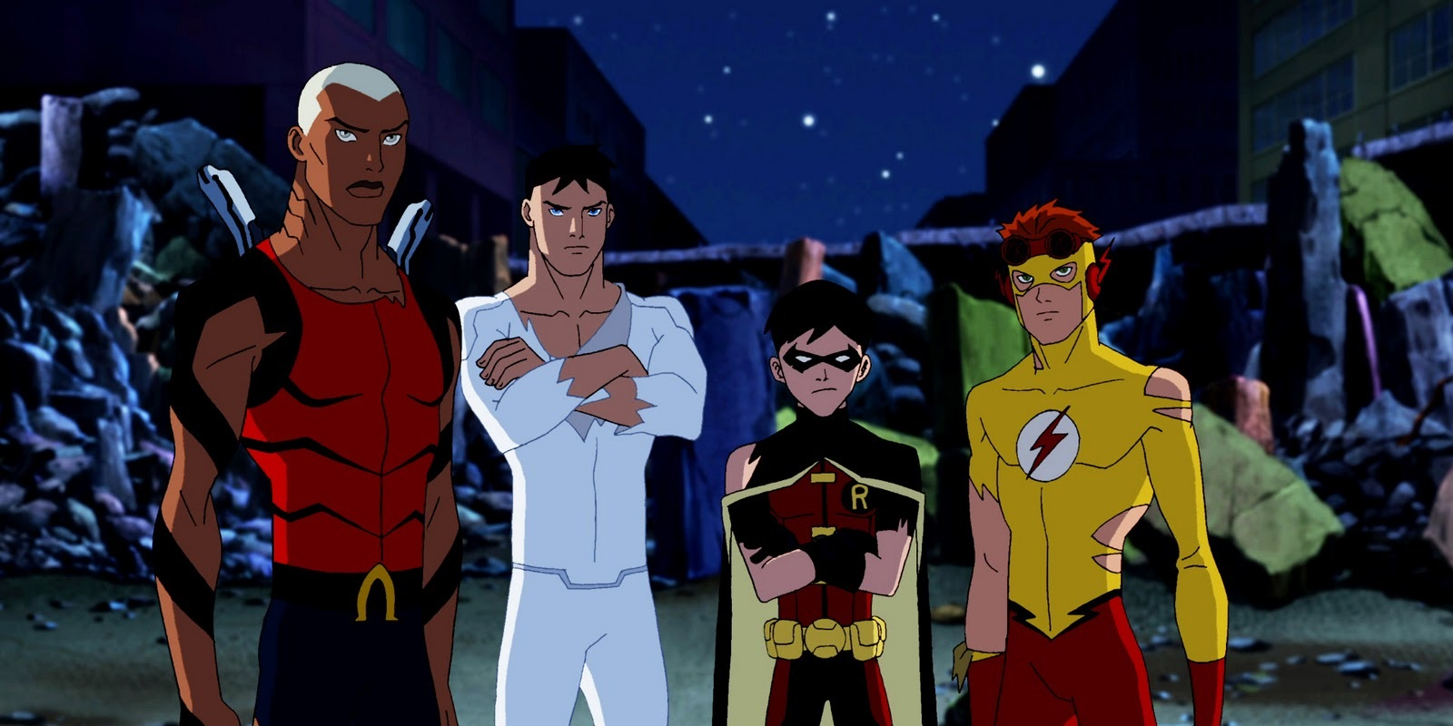Amazing Young Justice Pictures & Backgrounds