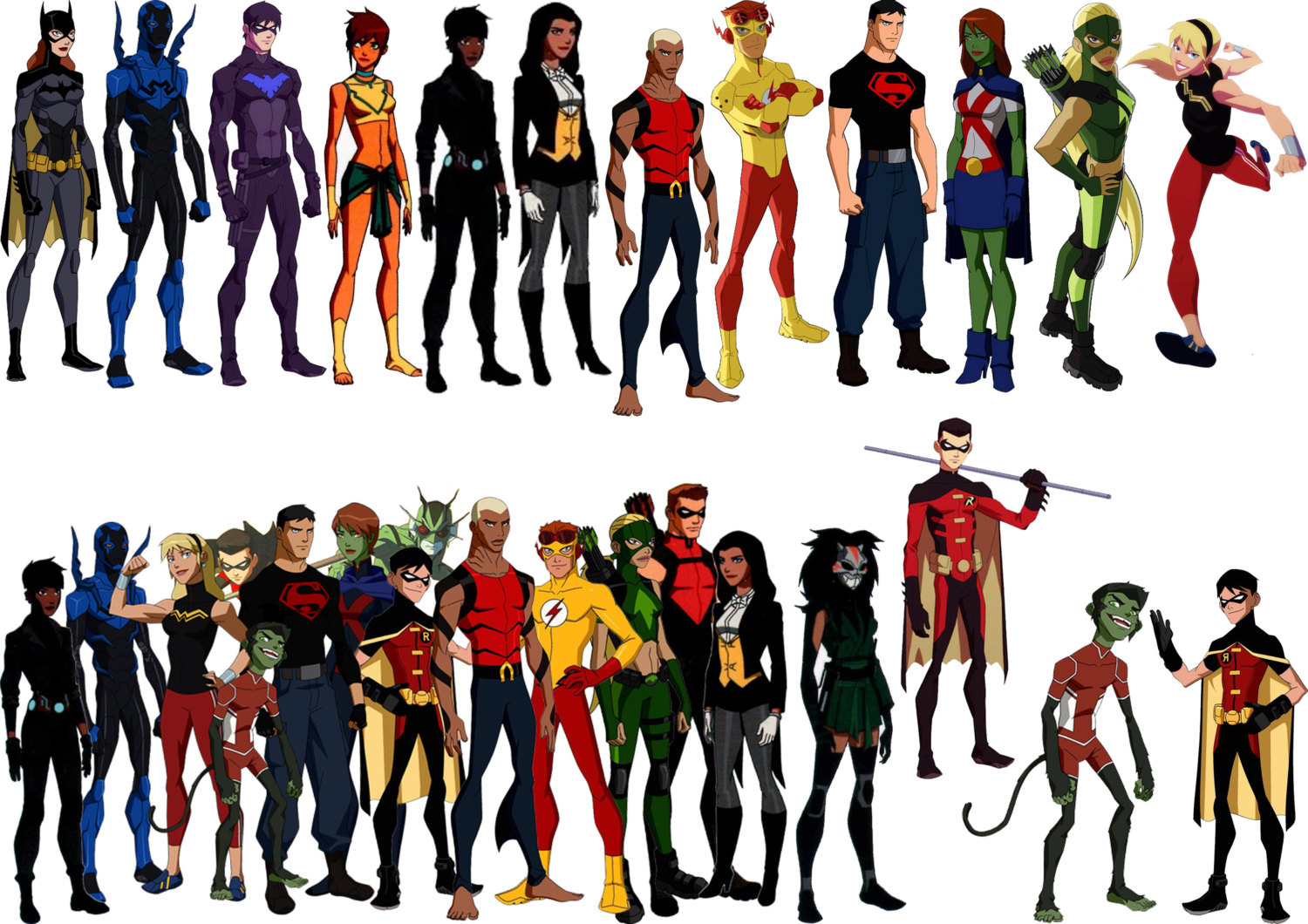 Young Justice Backgrounds, Compatible - PC, Mobile, Gadgets  1500x1060 px
