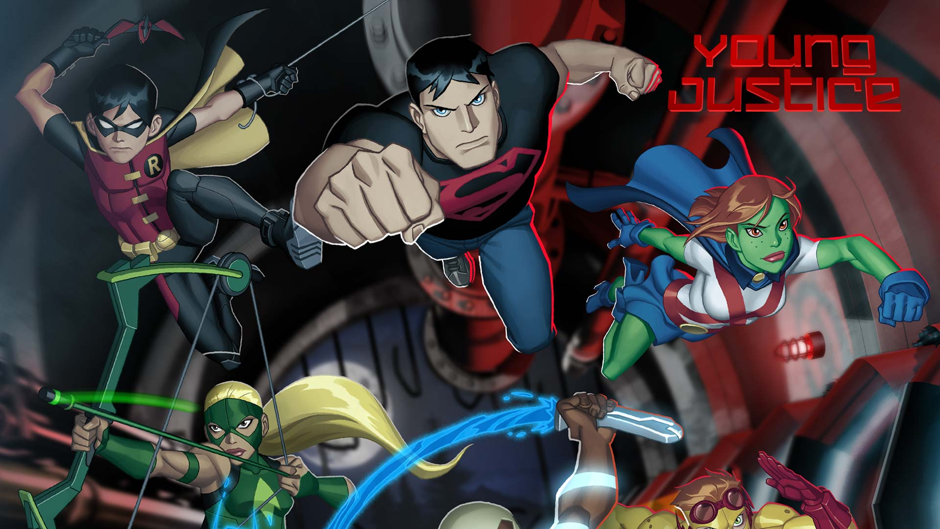 Nice wallpapers Young Justice 1920x1080px