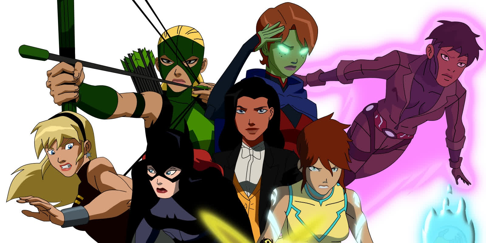 Nice wallpapers Young Justice 1600x800px