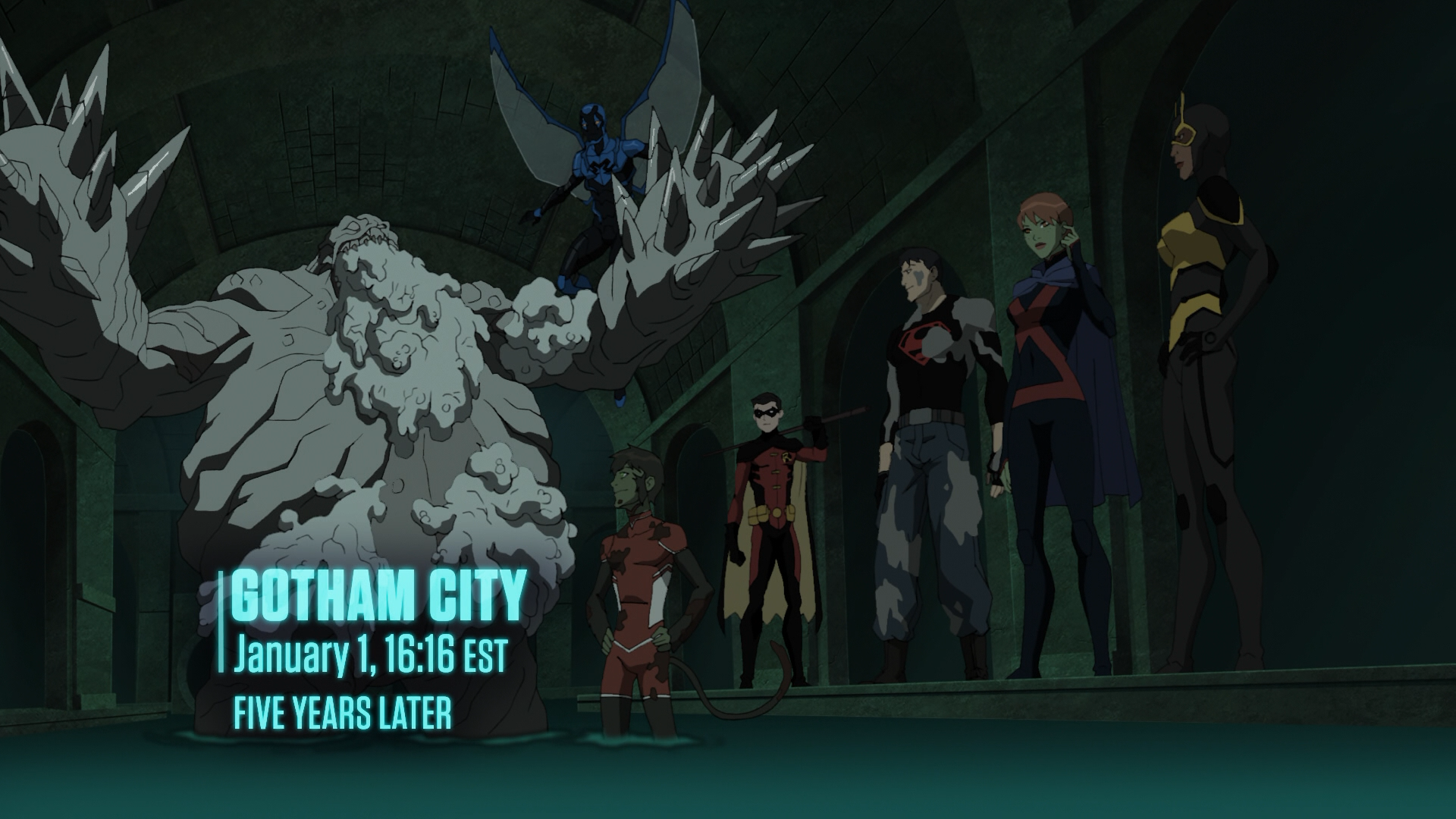 Nice wallpapers Young Justice: End Game 1920x1080px