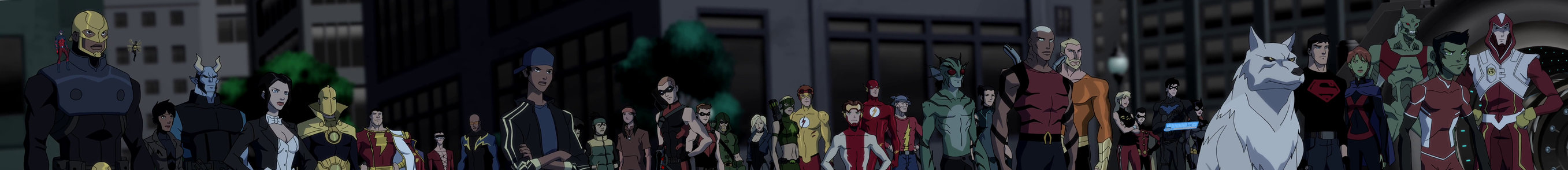 Nice wallpapers Young Justice: End Game 2714x294px