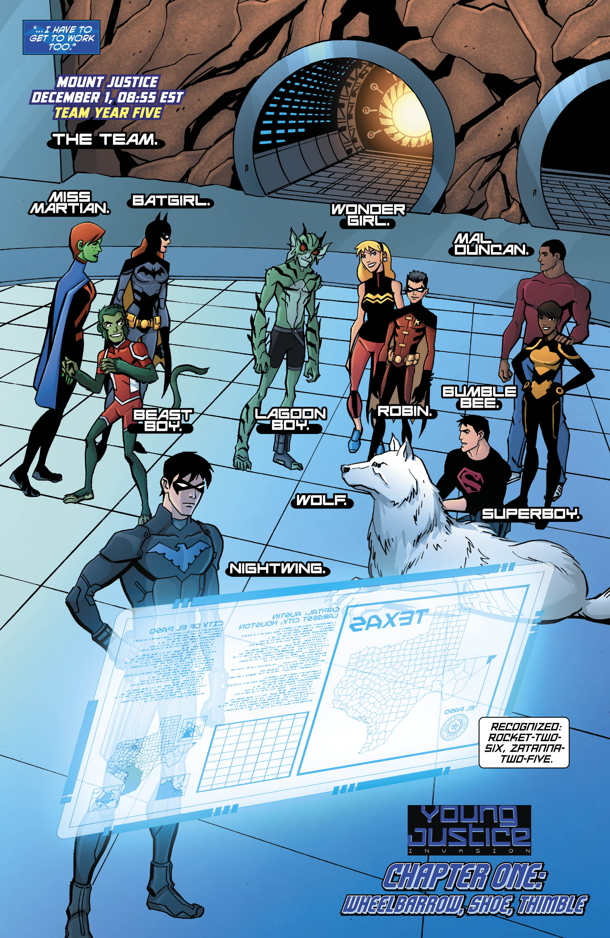 Amazing Young Justice: Invasion Pictures & Backgrounds