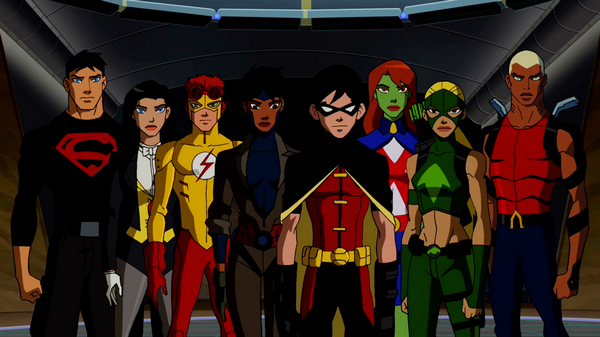 Young Justice: Invasion Backgrounds on Wallpapers Vista