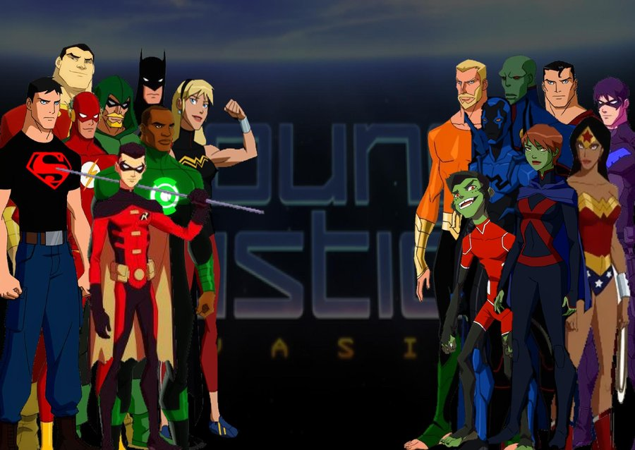 Young Justice: Invasion High Quality Background on Wallpapers Vista