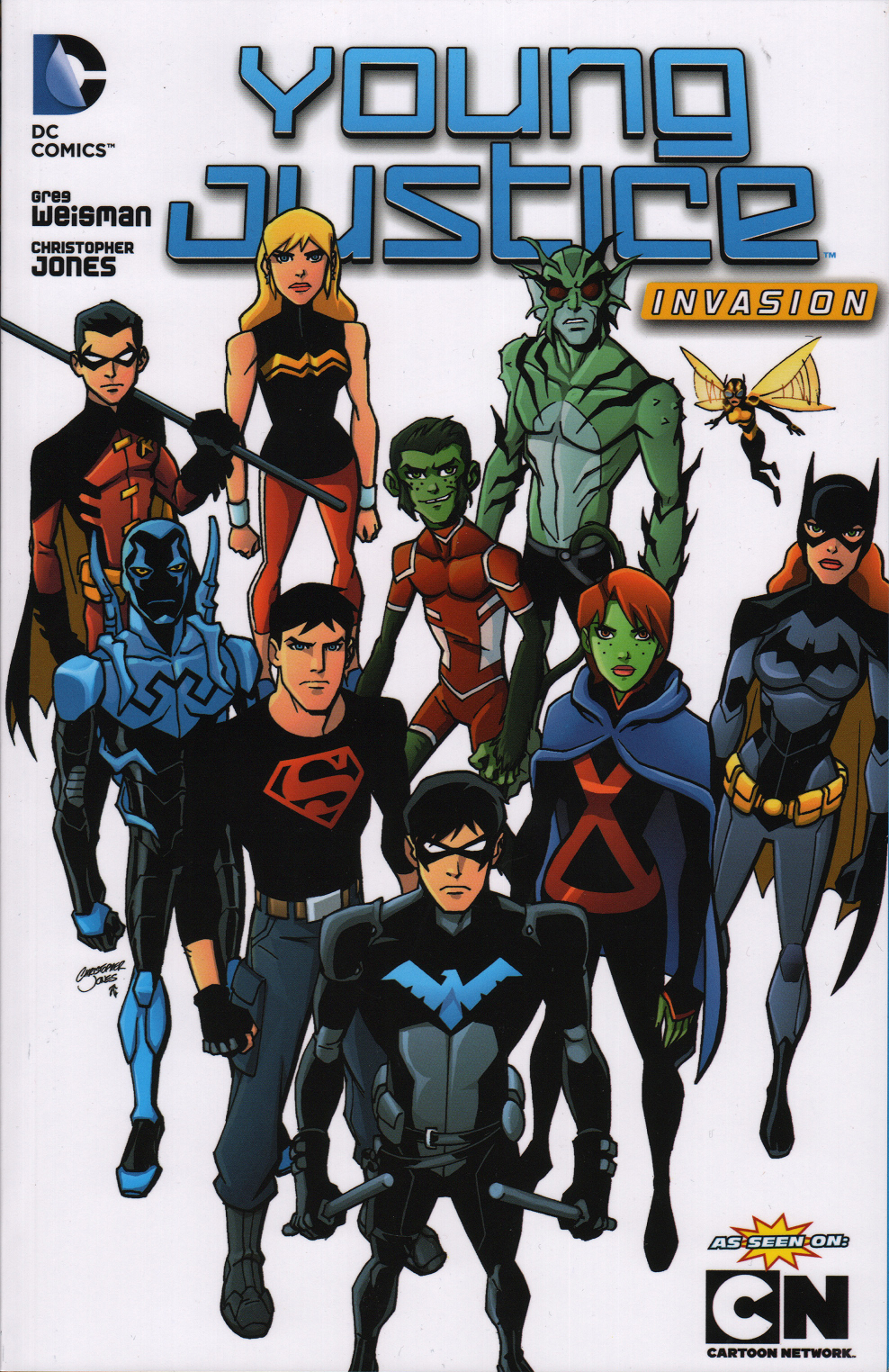 Young Justice: Invasion Pics, Cartoon Collection