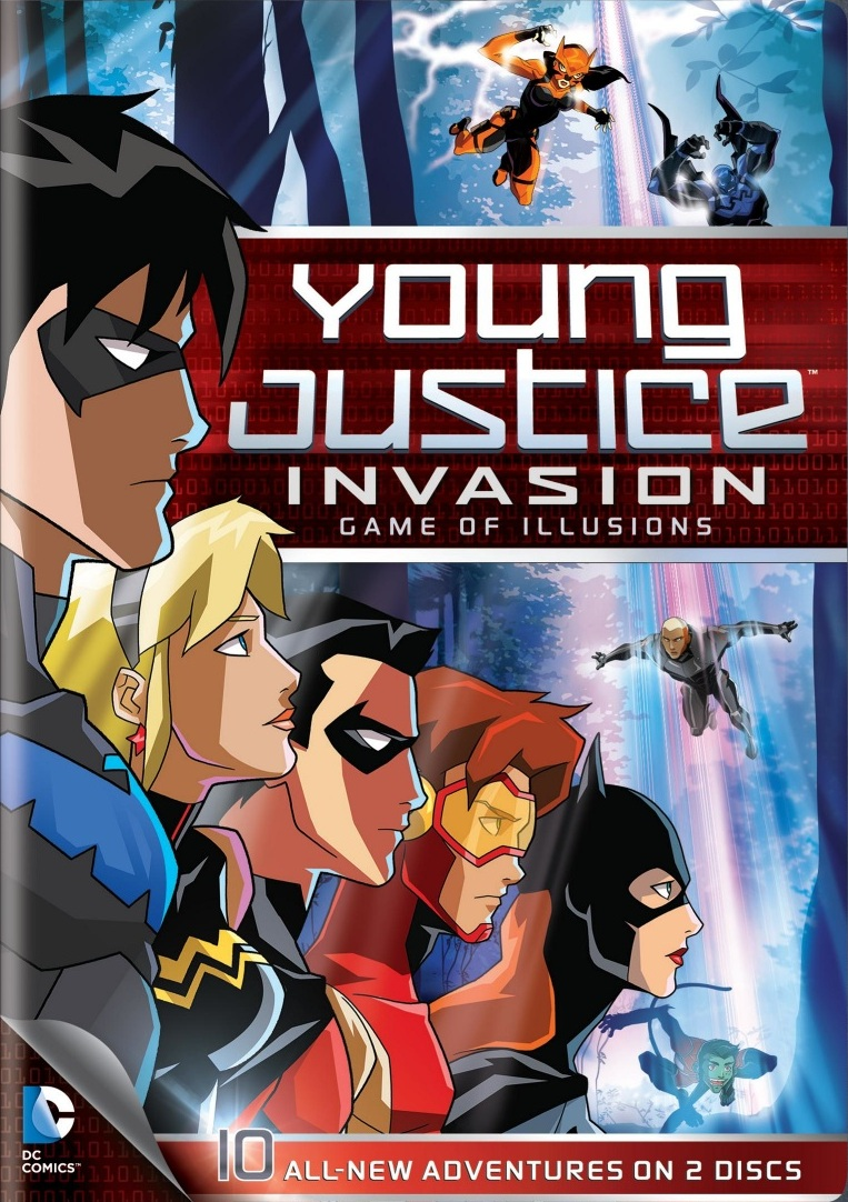 Young Justice: Invasion Backgrounds, Compatible - PC, Mobile, Gadgets| 763x1082 px