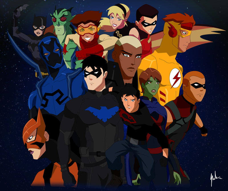 Nice wallpapers Young Justice: Invasion 800x671px