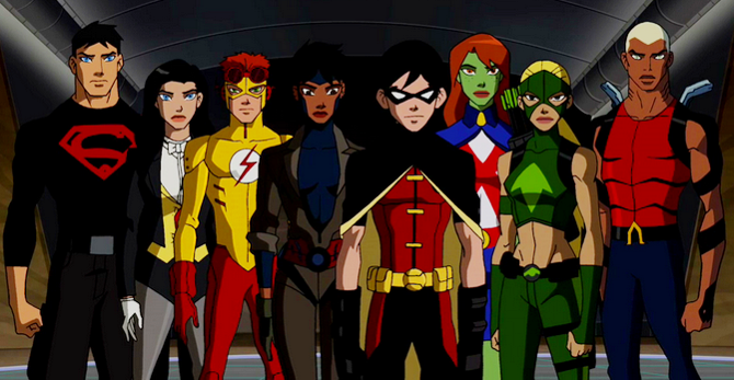 670x347 > Young Justice Wallpapers