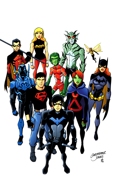 400x607 > Young Justice Wallpapers