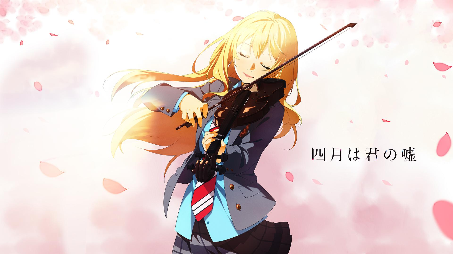 Your Lie In April High Quality Background on Wallpapers Vista