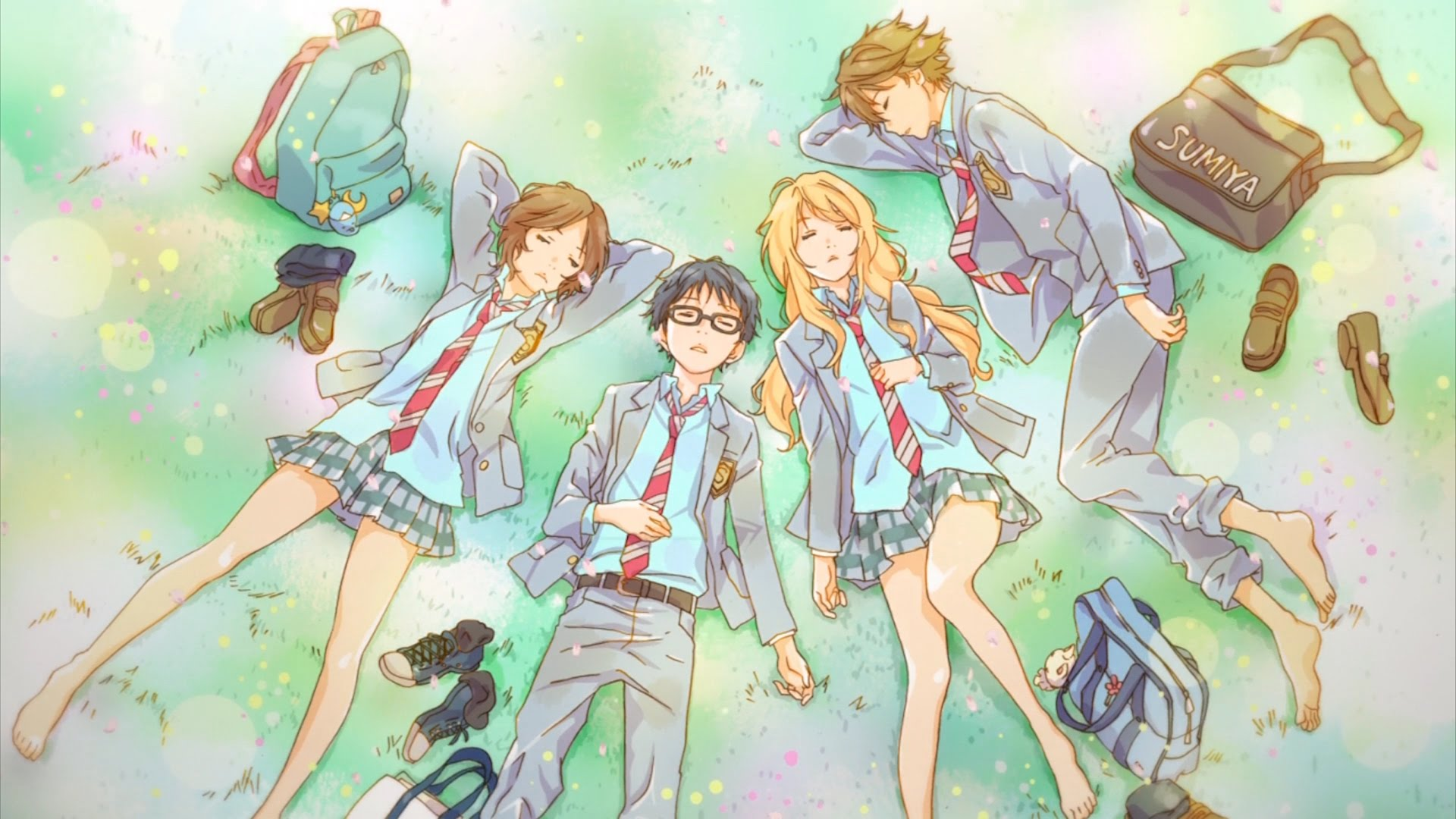 Nice wallpapers Your Lie In April 1920x1080px